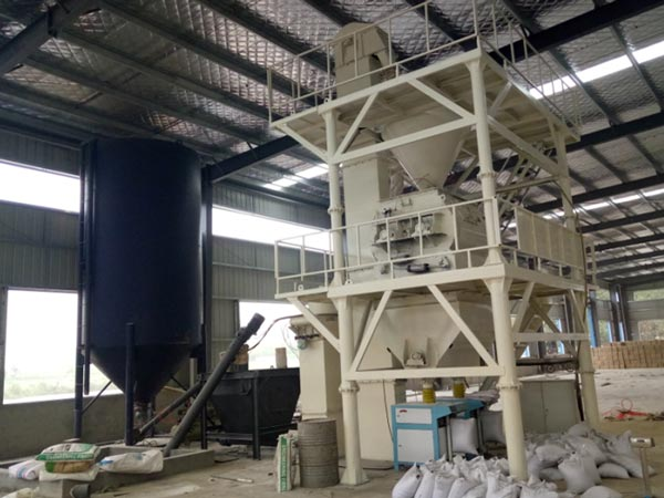 10-20t dry mortar production line