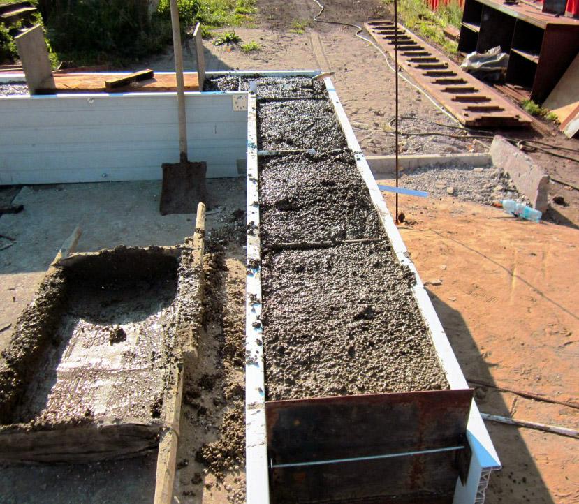 Частный дом из монолитного керамзитобетона чем просверлить бетон