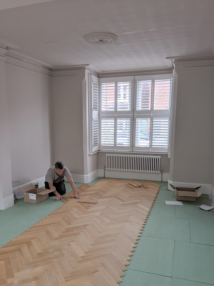 How to lay parquet flooring DIY