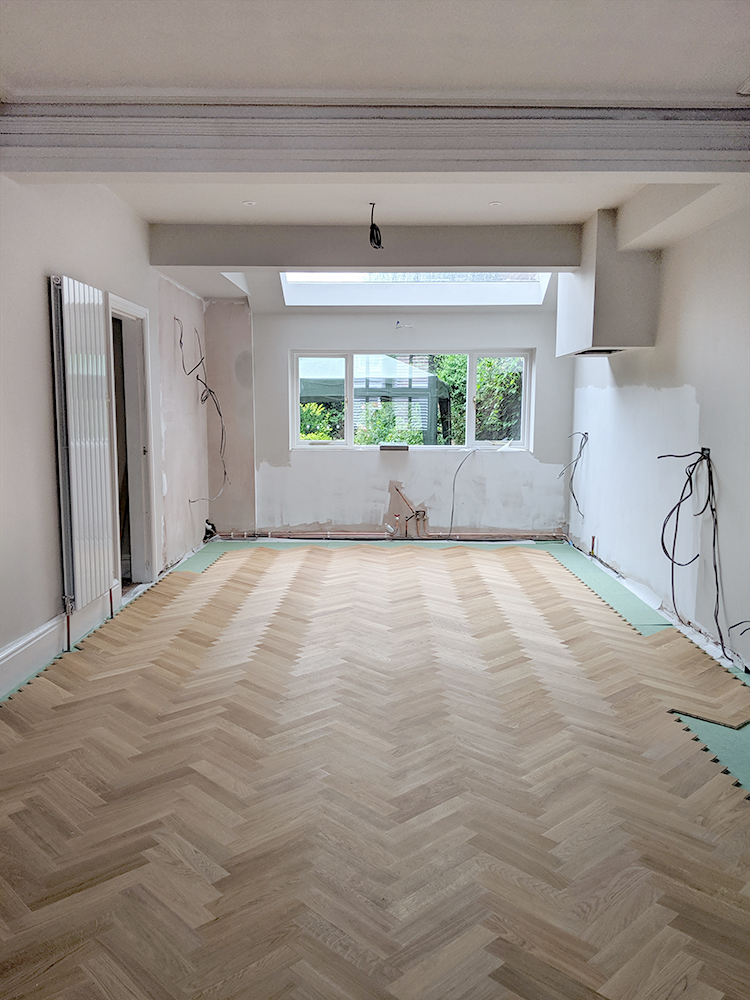 laying parquet flooring - how to DIY