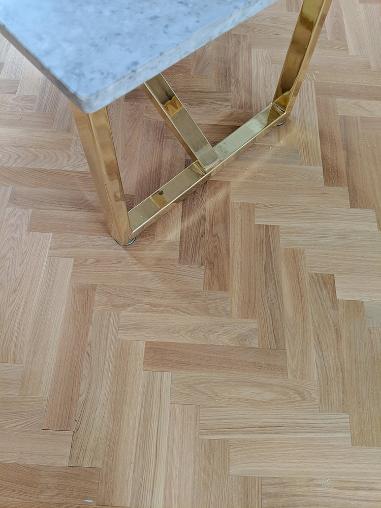 DIY Parquet Floor Laying