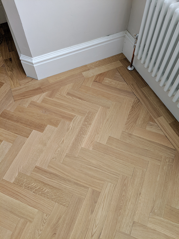 How to DIY parquet flooring